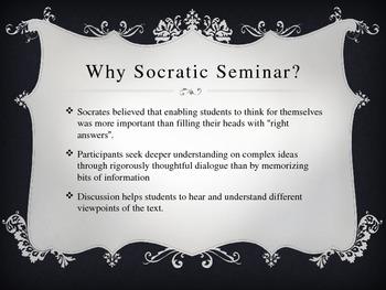 Socratic Seminar Overview