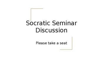 Socratic Seminar PPT Guide