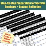 Socratic Seminar Preparation & Reflection (for In-Person o