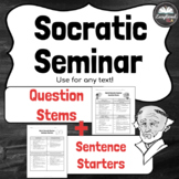 Socratic Seminar Question Stems and Sentence Starters