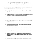 Socratic Seminar Questions(Chapt.1-6) for Pregnancy Projec
