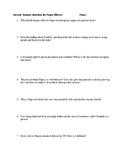 Socratic Seminar Questions for Purple Hibiscus by Chimaman