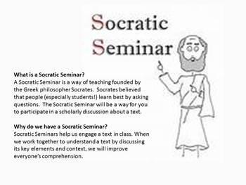 Socratic Seminar Resource Pack