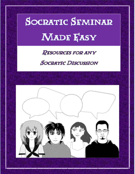 Socratic Seminar Made Easy - Resources for Any Socratic Discussion!