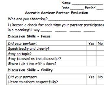 Socratic Seminar Resources