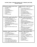 Socratic Seminar Resources Part 4