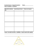 Socratic Seminar Reusable Template for Speech Evaluation and Critical Thinking