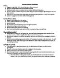 Socratic Seminar Rules and Peer Evaluation Rubric