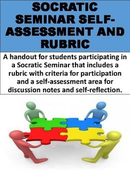 Socratic Seminar Self-Assessment and Rubric