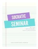 Socratic Seminar Sheet