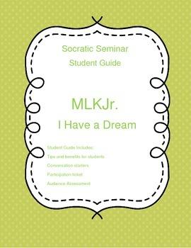 Socratic Seminar Student Guide - MLK
