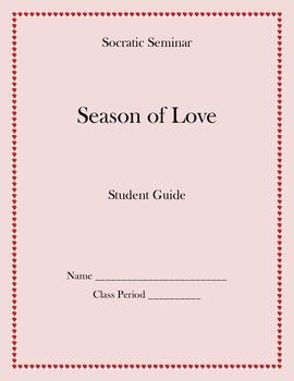 Socratic Seminar Student Guide - Shakespeare (Valentine's Day)