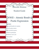 Socratic Seminar Student Guide - WWII Atomic Bomb Poetry
