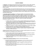 Socratic Seminar all-in-one packet & rubric