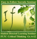 """Socratic Seminar and Activities:  Poetry Analysis of """"If"""""""
