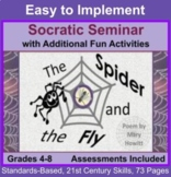 Socratic Seminar and Activities: Poetry Analysis of The Spider and the Fly