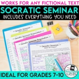 Socratic Seminar for ANY Text {Secondary English}