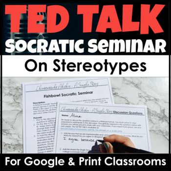 TED Talk Discussion on Stereotypes