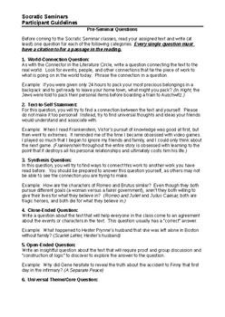 Socratic Seminars Complete Guidelines