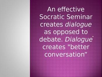 Socratic Seminars:  The Successful Way!
