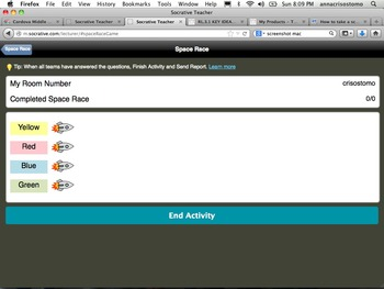 Socrative fun: matter and chemistry unit review through technology!