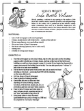 FREE!! Soda Bottle Volcano Project (No mess!) - NOW EDITABLE!
