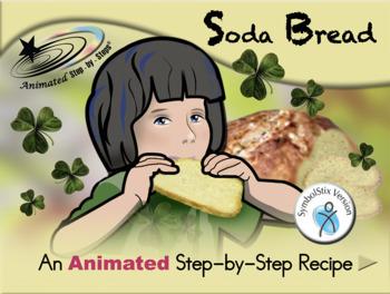 Soda Bread - Animated Step-by-Step Recipe SymbolStix