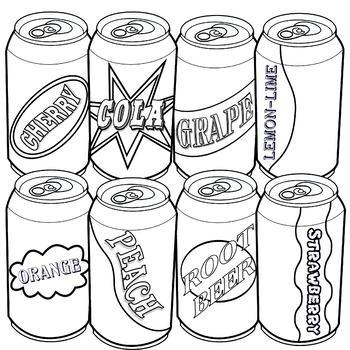 Soda Can Clip Art