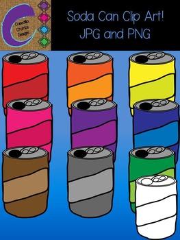 Soda Can Clip Art  Color Images