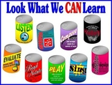 Soda Can Standards Music Bulletin Board Kit