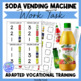 Soda Can Stocking- A Work Task for Vocational Prep in Autism Units & LIFE Skills