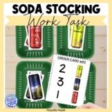 Soda Can Stocking- Work Tasks for Vocational Skills in Spe