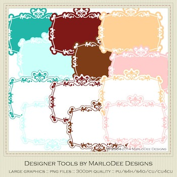 Soda Fountain Colors Digital Journal Tag Graphics