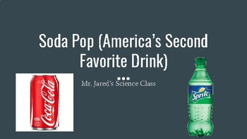 Soda Pop:  America's Second Most Popular Drink