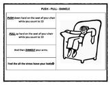 Soda Pop Head - Push Pull Dangle Anger Management Stress Tool handout