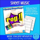 Soda Pop Pop   Pop With Music   Sheet Music   Unlimited St