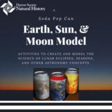 Soda Pop Model Solar System - Earth, Moon and Sun