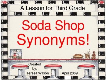 Soda Shop Synonyms