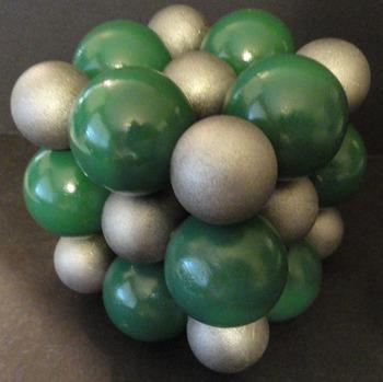 Sodium Chloride Crystal Model