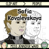 Sofia Kovalevskaya Clip Art