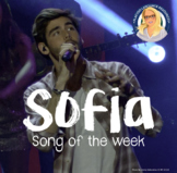 Sofia Spanish Song Activities Packet - Song of the week