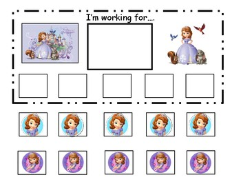 Sofia The First Token Board