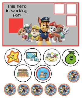 """Sofia the First Behavior Chart """"I am working for"""""""