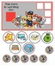 "Sofia the First Behavior Chart ""I am working for"""