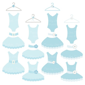 Soft Blue Ballet Clipart - Ballet Tutus, Ballet Clipart