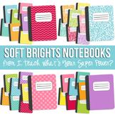 Soft Brights Notebook Set