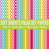 Soft Brights Polka Dot Paper Pack