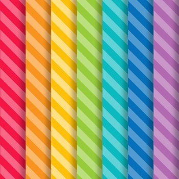 School Brights Stripes Paper Pack