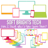 Soft Brights Tech Set