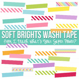 Soft Brights Washi Tape Pack